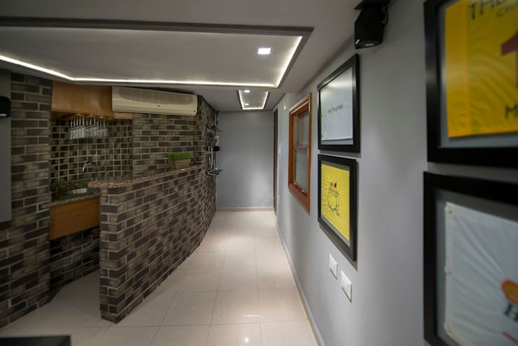 Remodelación de sótano:  de estilo  por ESTUDIO TANGUMA