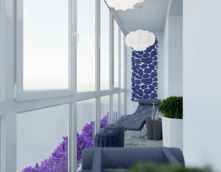 le luxe de la simplicité: Tерраса в . Автор – Dara Design