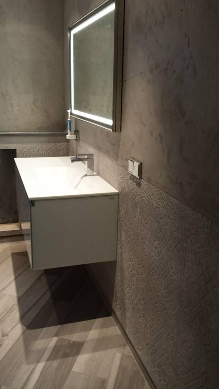 Spa und Bäder Fugenlose Mieneralischer putz:  Badezimmer von Ulrich holz -Baddesign