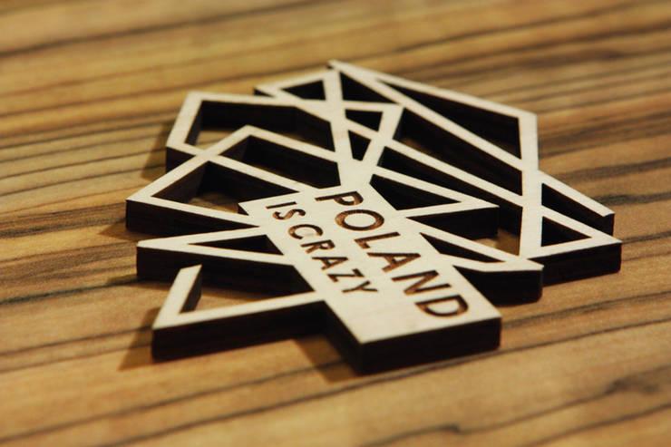 Poland Is Crazy 0302 logo: styl , w kategorii Gospodarstwo domowe zaprojektowany przez POLAND IS CRAZY,