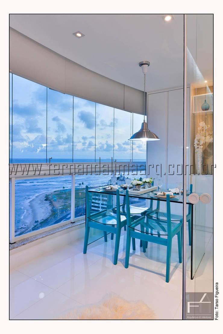PITUBA PRIVILLEGE: Salas de jantar  por FERNANDA LIMA,Moderno