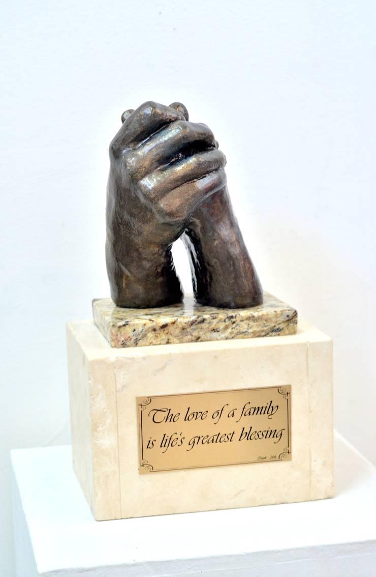 Esculturas: Hogar de estilo  por Galeria Ivan Guaderrama