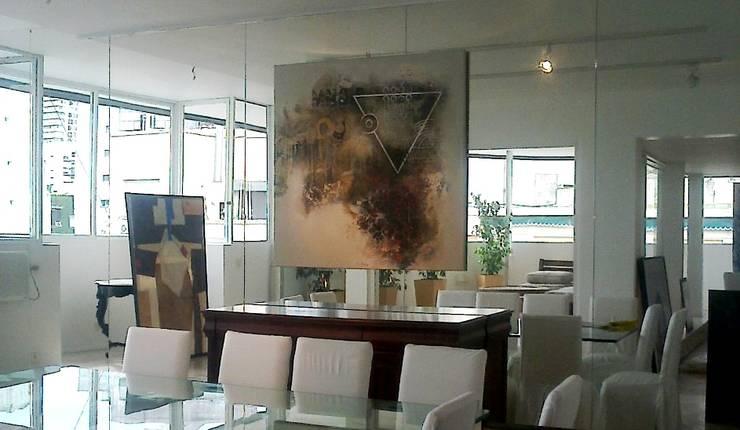 espacios con arte Comedores modernos de Daniel Vidal Moderno Vidrio