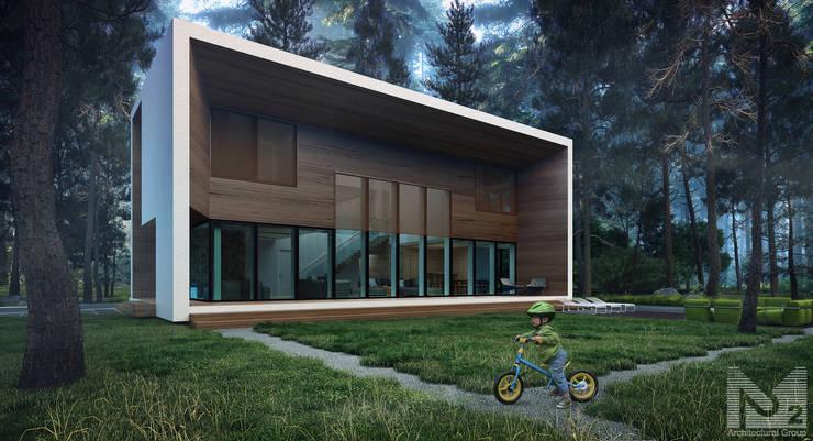 ДОМ В КИЕВЕ: Дома в . Автор – ALEXANDER ZHIDKOV ARCHITECT,