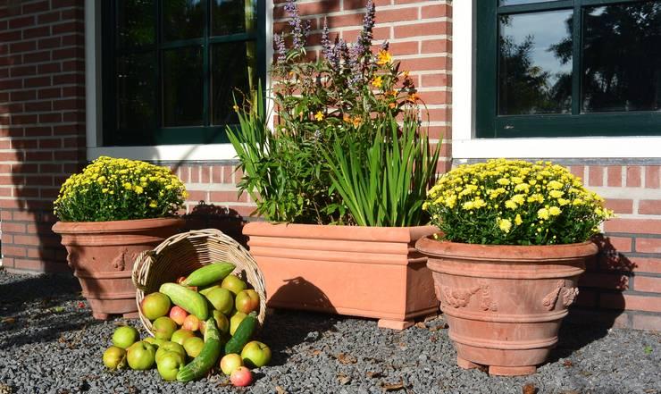 Sfeervol tafereel in uw tuin:  Balkon, veranda & terras door Terrecotte Benelux