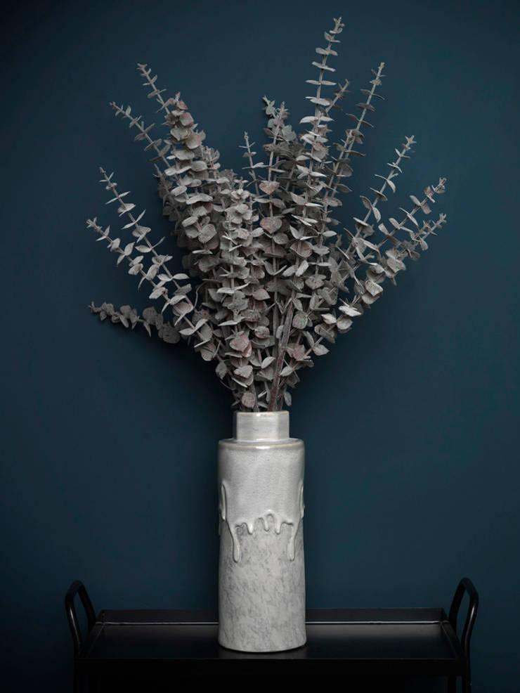Burgundy/brown eucalyptus spray par Dust Éclectique