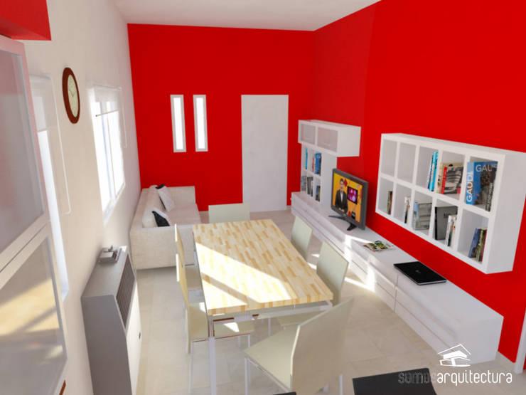 moderne Woonkamer door Somos Arquitectura