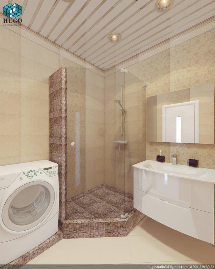 ПРОЕКТ №5: Ванные комнаты в . Автор – HUGO