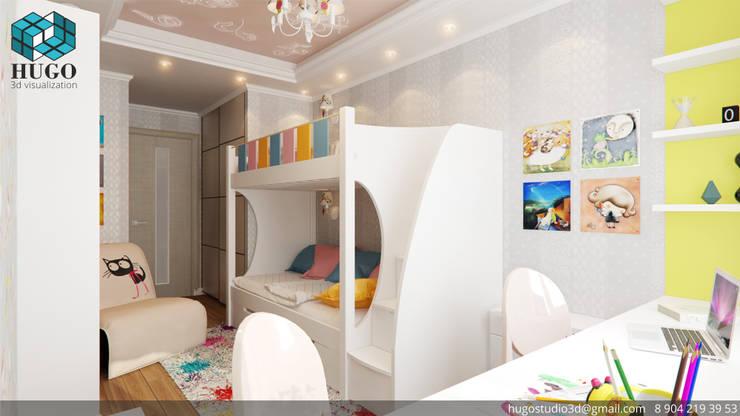 ПРОЕКТ №3: Детские комнаты в . Автор – HUGO