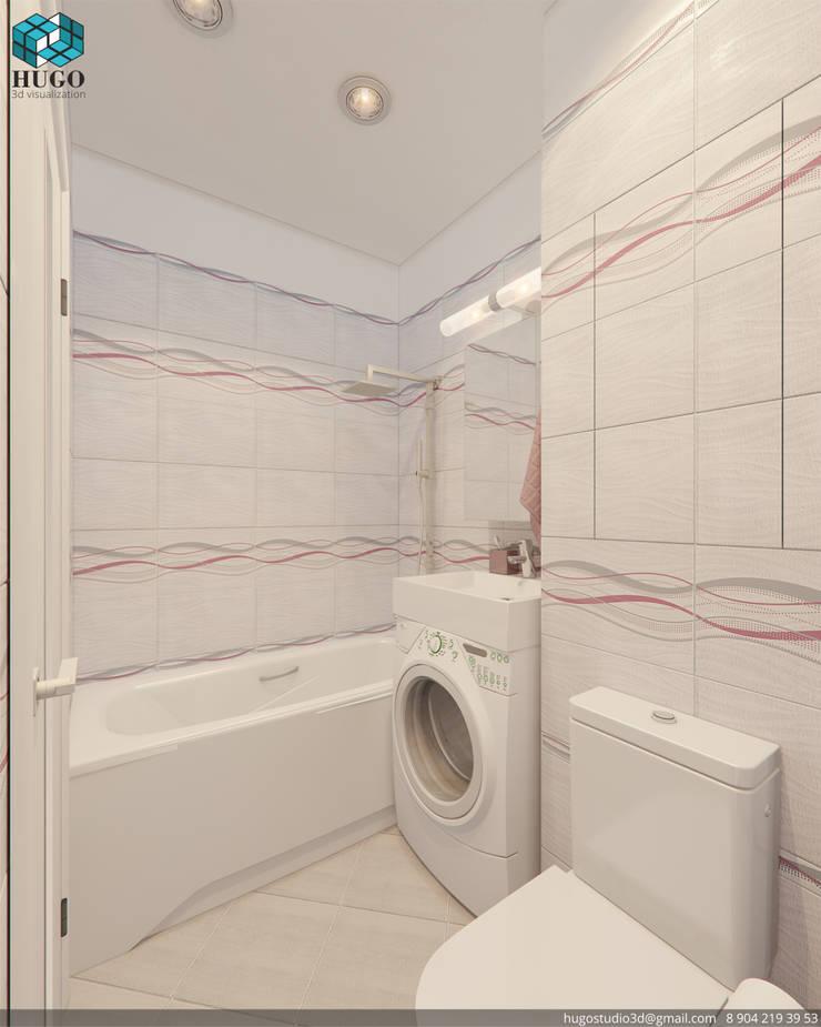 ПРОЕКТ №4: Ванные комнаты в . Автор – HUGO