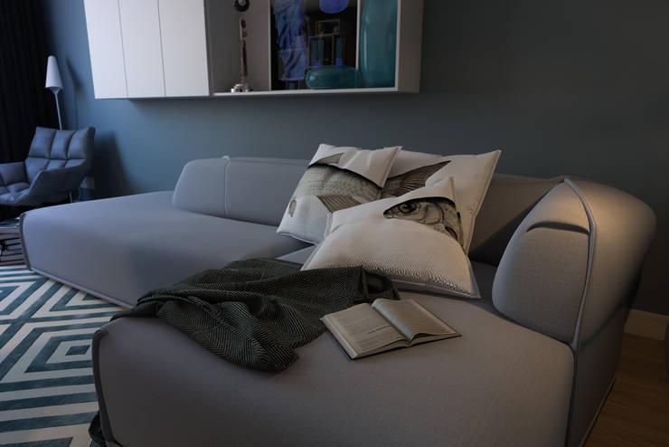 B. Apartments: Гостиная в . Автор – Алена Булатая