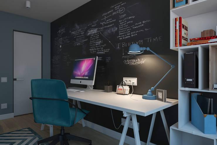 B. Apartments: Рабочие кабинеты в . Автор – Алена Булатая