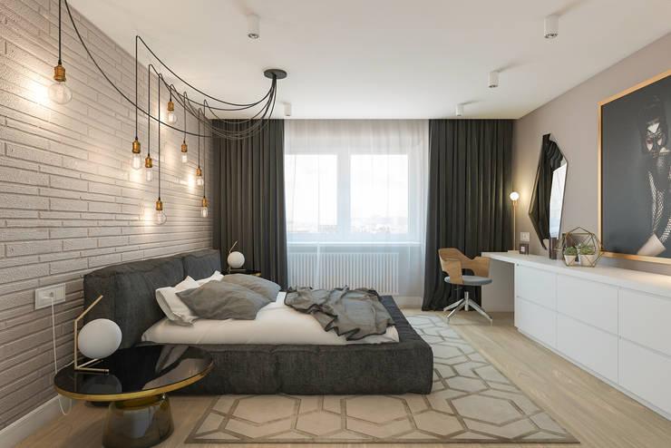B. Apartments: Спальни в . Автор – Алена Булатая