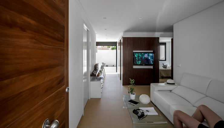 modern Living room by Selecta HOME