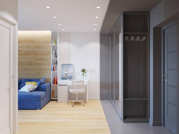 Квартира однокомнатная для аренды: Коридор и прихожая в . Автор – Оксана Мухина,