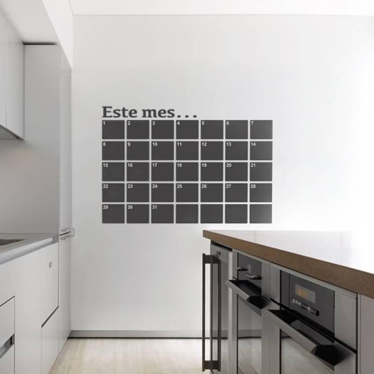 Paredes y pisos de estilo moderno por Goodvinilos