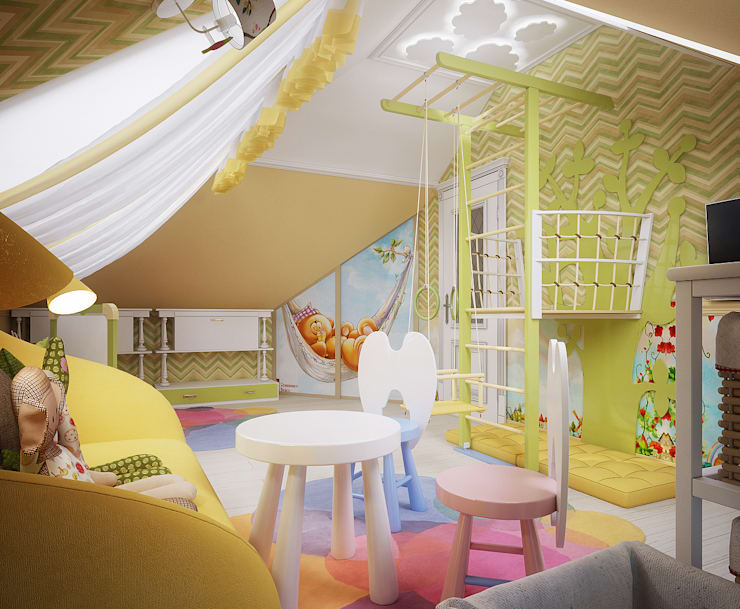 classic Nursery/kid's room by Инна Михайская