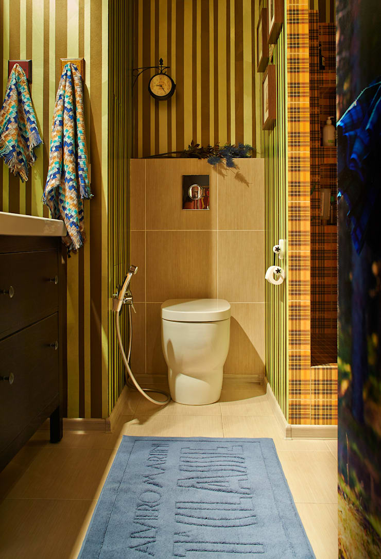 Modern bathroom by Бюро Акимова и Топорова Modern