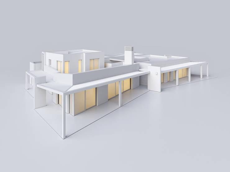 Villa in Mallorca / Willa Majorka: styl , w kategorii  zaprojektowany przez Scope Design Studio