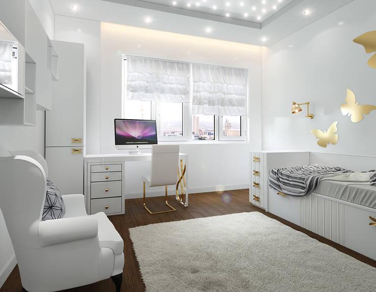ЖК Велл Хаус (Well House), 163 м²: Детские комнаты в . Автор – Bronx