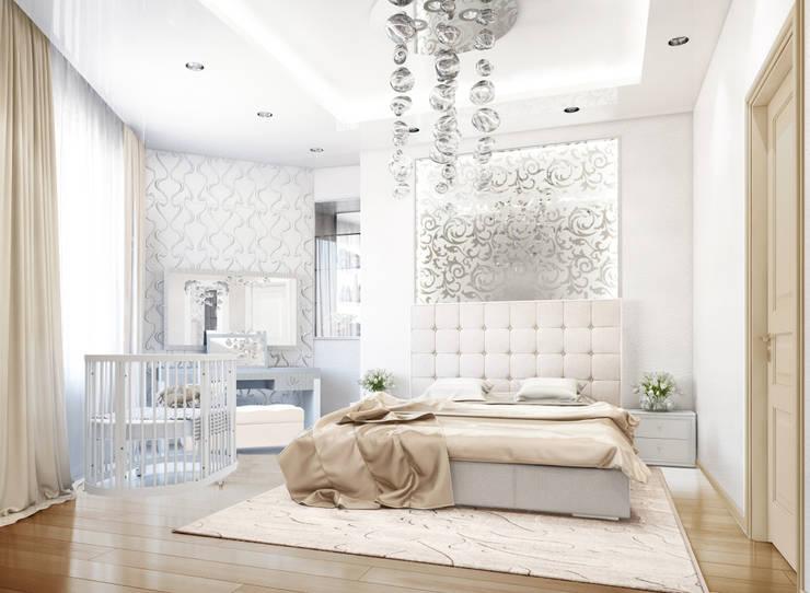 Projekty,  Sypialnia zaprojektowane przez Bronx