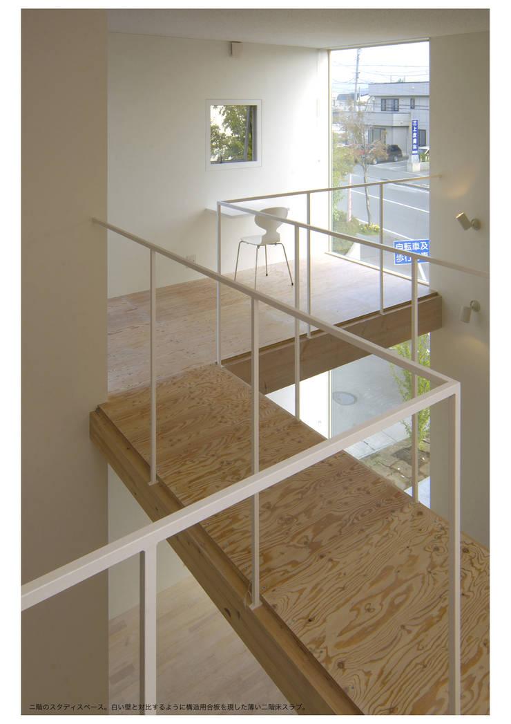 桂木の家: フクシアンドフクシ建築事務所が手掛けた和室です。