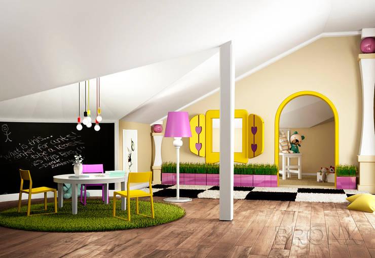 Projekty,  Pokój dziecięcy zaprojektowane przez Bronx