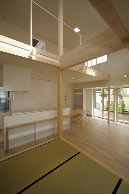新田の家 オリジナルデザインの リビング の フクシアンドフクシ建築事務所 オリジナル
