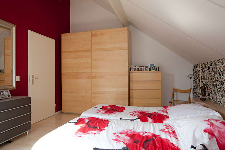 Bedroom by Hans Been Architecten BNA BV , Modern