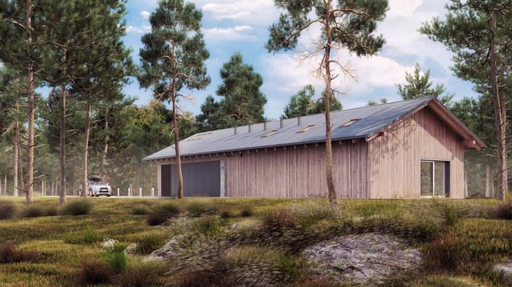 Dostępny natura #3: styl , w kategorii Domy zaprojektowany przez INDEA,