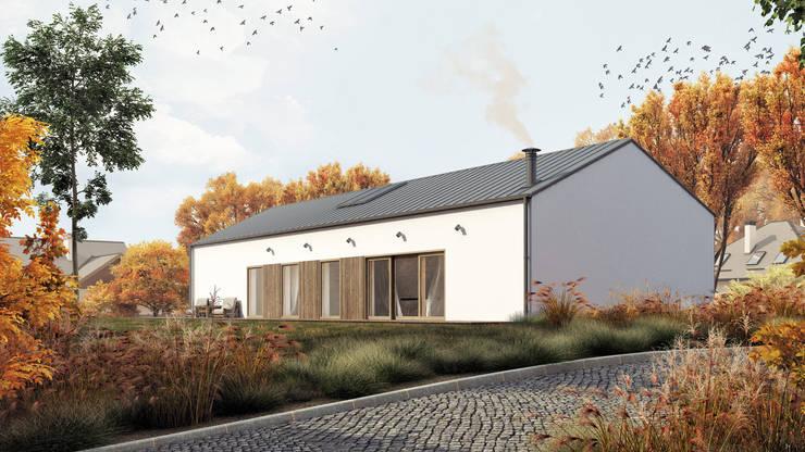Dostępny plus standard #3: styl , w kategorii Domy zaprojektowany przez INDEA,