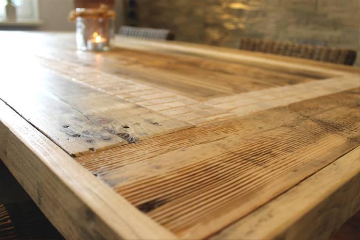 Tisch: rustikale Esszimmer von MANUFAKTUR '73