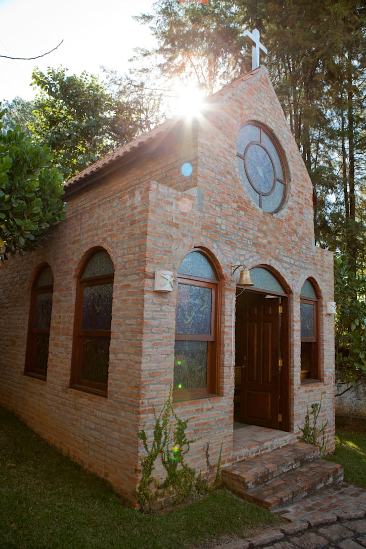 Casa de Campo Cabreúva: Casas  por Cactus Arquitetura e Urbanismo,