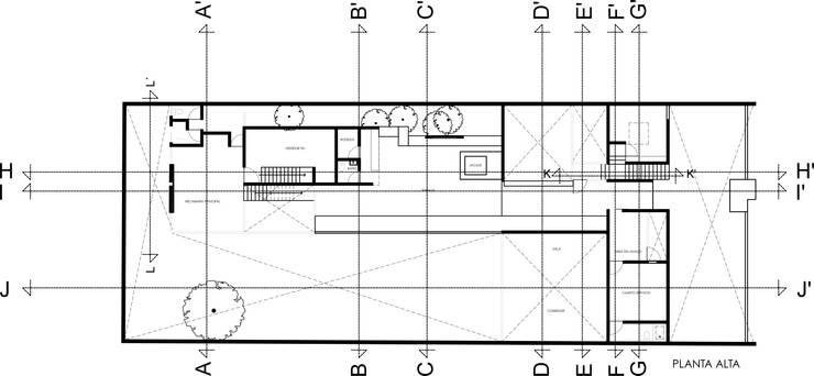 Casa Florida: Casas de estilo  por Colectivo IA02