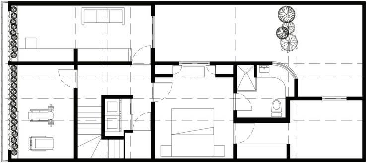 Casa Tacuba: Casas de estilo  por Colectivo IA02