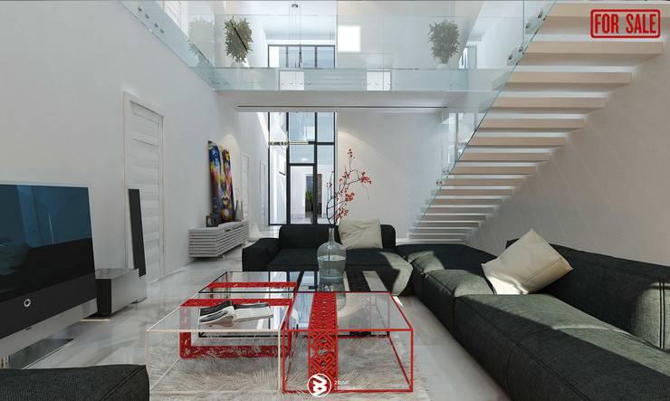 Sala de estar  por 27Unit design buro