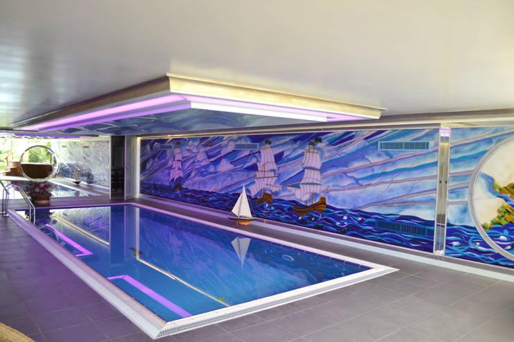 ARTISTIC DESIGN – Çamlıca Villa 2010:  tarz Havuz, Modern