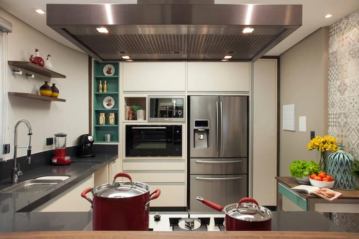 مطبخ تنفيذ Arquitetura 8 - Ana Spagnuolo & Marcos Ribeiro