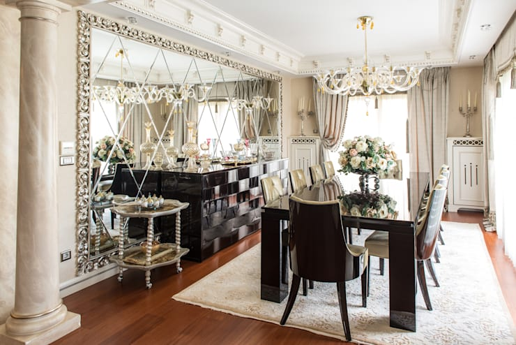 Dining room by ARTISTIC DESIGN, Modern
