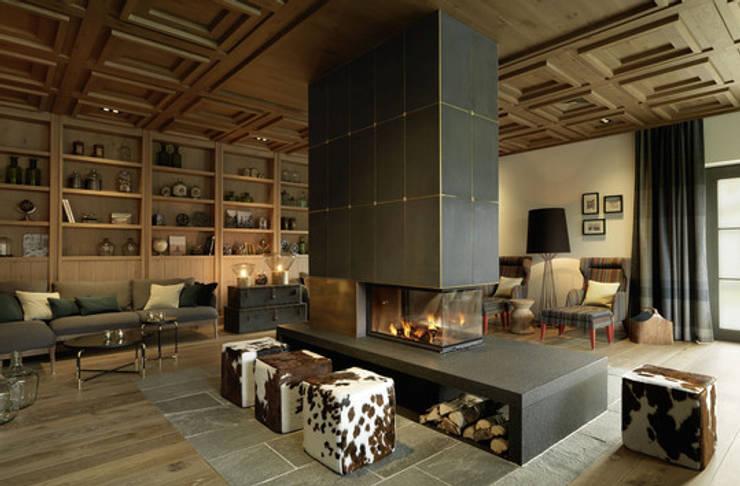 Parquets BAUWERK : Salon de style de style Classique par BAUWERK PARQUET