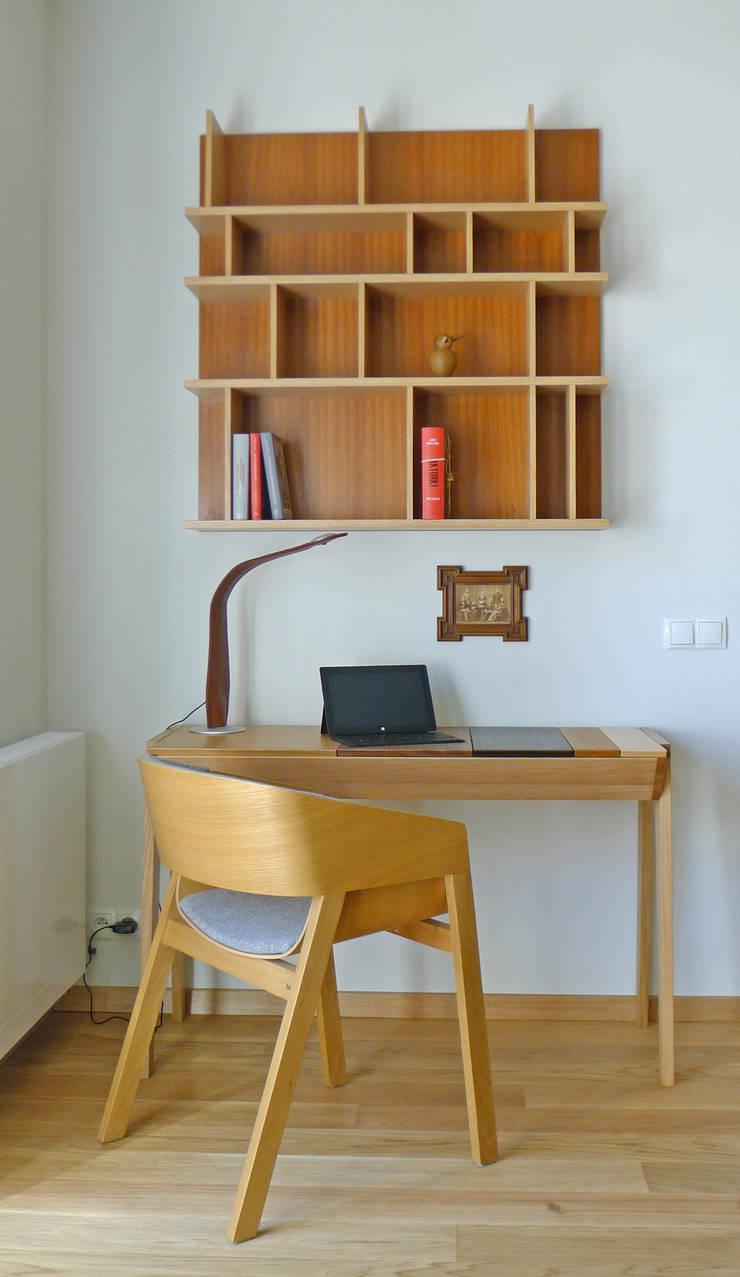 Gliwice: styl , w kategorii Domowe biuro i gabinet zaprojektowany przez JA2PLUS