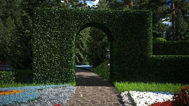 Marble House: Сады в . Автор – SVPREMVS