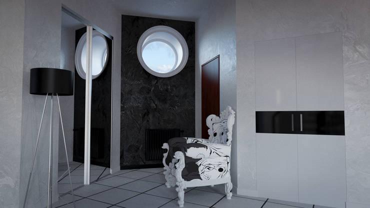 Modern Interior: Коридор и прихожая в . Автор – SVPREMVS, Эклектичный