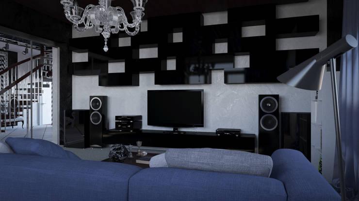 Modern Interior: Медиа комнаты в . Автор – SVPREMVS, Эклектичный