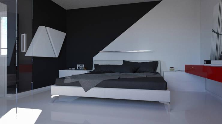 Recámaras de estilo minimalista por SVPREMVS