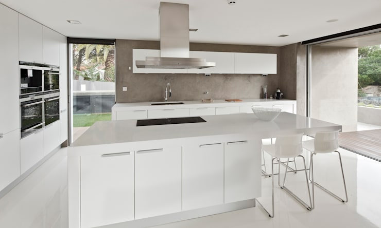 Cocinas de estilo  por Areacor, Projectos e Interiores Lda