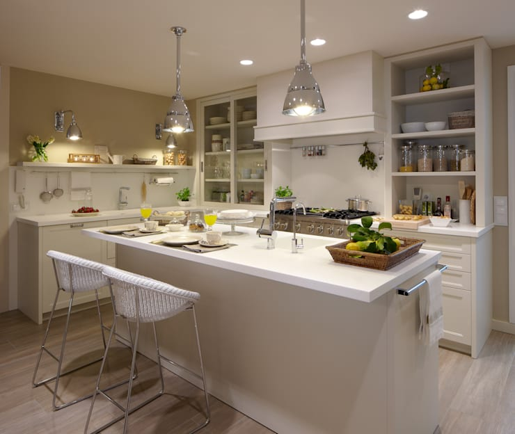 Cocinas con isla: 10 diseños maravillosos