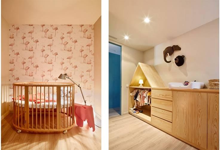 VIVIENDA PARTICULAR, Barcelona.: Dormitorios infantiles de estilo clásico de CIRERA ESPINET