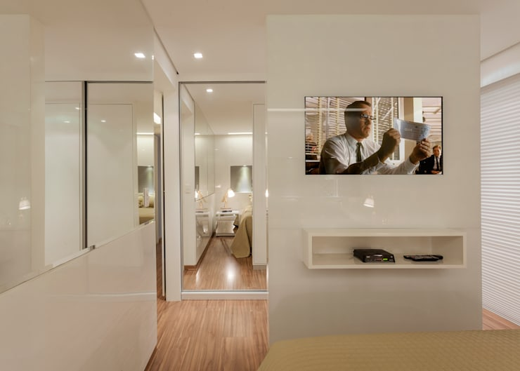 Quartos modernos por Carmen Calixto Arquitetura