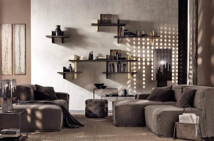 غرفة المعيشة تنفيذ Mobilificio Marchese